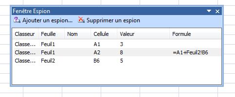 Excel-espion