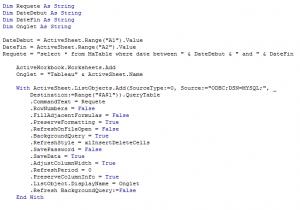 Excel-SQL-VBA