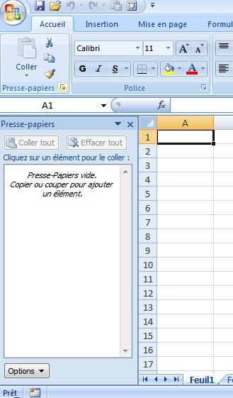 Comment Afficher Le Presse Papier Excel Webanalytix